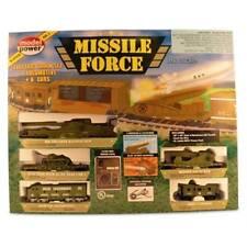 HO US ARMY MISSILE FORCE TRAIN SET   MRCMP1068    NIB NEVER OPENED