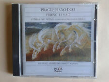 Liszt, Symphonic poems, composer's two pianos version, Prague piano duo, Praga