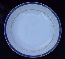"Christofle Oceana Bleu Blue Large 11"" Round Serving Bowl"