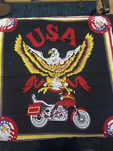 USA BIKER EAGLE PATTERN - BANDANA - AMERICA PATRIOT