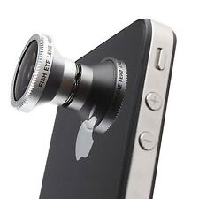 Objectif Fish-Eye 180° Magnetique Photo / Video iPhone 5/S/C / iPhone 4 / 4S / 3