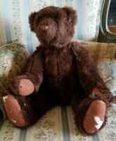 Antique Growler BROWN TEDDY BEAR  Fully Jointed Knickerbocker? Mohair