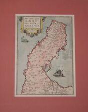 Ortelius Map of Italy_Apuliae_Calabria_Puglia_1606_Theatrum Orbis Terrarum