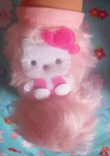 """New Hello Kitty baby doll pink fur boots Annabell Chou Alive Reborn 18"""" 19"""" ."""