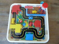 FISHER PRICE 2840 - MAGNA MOVER TOWN - CIRCUIT AIMANTE - VINTAGE - BEG