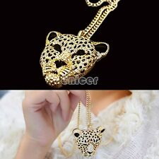 Joyería de HOT nueva señora el collar pendiente largo Fantástico Moda Leopard