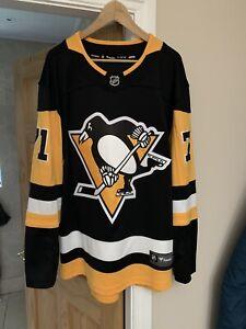 NHL Pittsburgh Penguins Fanatics #71 Malkin Home Jersey