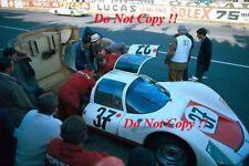 Vic Elford & Ben Pon Porsche 906K Carrera 6 Le Mans 1967 Photograph 1
