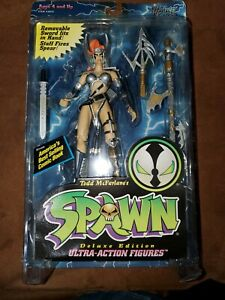 NEW Angela Blue Armor Spawn Series 2 Figure Deluxe Edition NIB McFarlane 1995