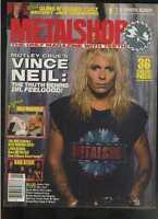 Metal Shop january 1990 Motley Crue Vince Neil Kreator Poison Cult MBX20