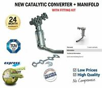 CAT Catalytic CONVERTER + MANIFOLD for FIAT PANDA 1.2 4x4 2004->on