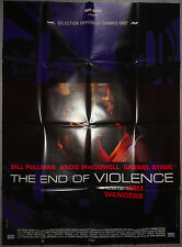 Affiche THE END OF VIOLENCE Bill Pullman WIM WENDERS Traci Lind 120x160cm .