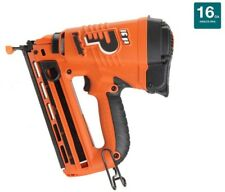 Nailer Air Power Tool 16-Gauge Angled Lithium-Ion Finish Lithium Ion Cordless