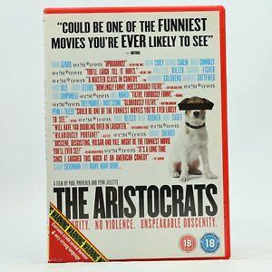 THE ARISTOCRATS Documentary Comedy Penn Jillette Paul Provenza DVD R2 GC