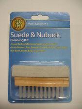 SUEDE & NUBUCK  CLEANER  KIT -  BRUSH  & ERASER BAR