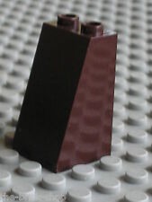 LEGO DkBrown slope brick ref 3684 / sets 7199 7037 8191 4182 4865 ...