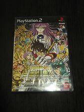 Les chevaliers du Zodiaque Saint Seiya en import japonais PS2 avec sa notice