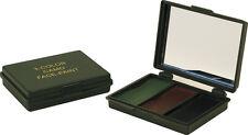 3 Colour Camouflage Militaire Peinture Visage Cream Miroir Compact Noir Marron