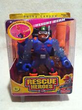Rescue Heroes Flight Team Rocky Canyon Mountain Ranger Factory Sealed!