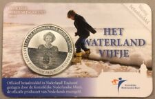 2010 5 Euro - Netherlands - Beatrix Waterland - Commemorative Original Mint Seal