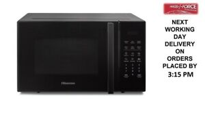 Hisense H23MOBS5HUK 23 Litre 800w Black Solo Microwave + 2 Year Warranty (New)