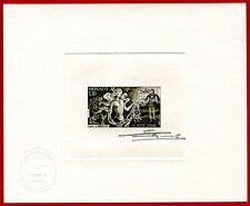 "Monaco 1980 #1237, Artist Signed Die Proof, 'The Little Mermaid"" Fairy Tales"