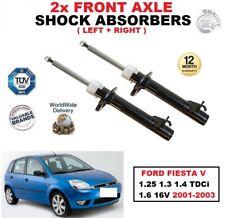 Amortiguadores Delanteros Set para Ford Fiesta V 1.25 1.3 1.4 TDCI 1.6 16V