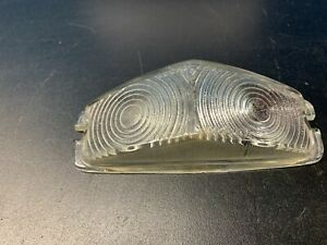 TRIUMPH HERALD VITESSE MK1 > 1969 GENUINE LUCAS L584 FRONT GLASS INDICATOR LENS