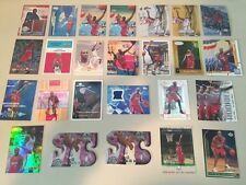 Lot x53 Lamar Odom w Relic Material, Inserts, Die Cut ++ Los Angeles Clippers
