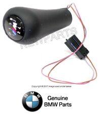 BMW e34 e36 ///M Lighted Leather Shift Knob OEM Stick Shifter Illuminated Handle