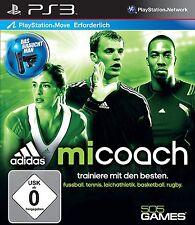 adidas miCoach (Move) - [PlayStation 3]----Sony Playstation 3---Neu