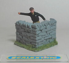 Vintage 1.32 CORNER 'DRY' STONE WALL for SCALEXTRIC AIRFIX NINCO SCX FLY+
