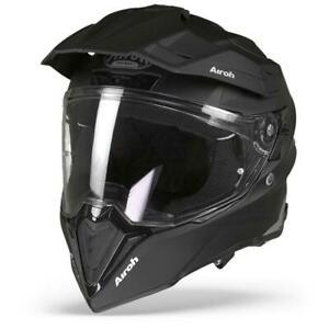 Airoh Commander Color Black Matte - ADV Dual Sport Adventure Helmet - Free P&P!