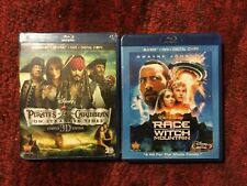 Pirates of the Caribbean : On Stranger Tides + Race to Witch Mountain : Blu-ray