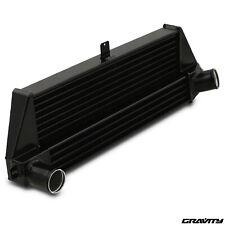 BLACK ALUMINIUM FRONT MOUNT INTERCOOLER FMIC FOR BMW MINI R56 R57 1.6 COOPER S