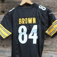 Pittsburgh Steelers Jersey Antonio Brown #84 NFL Players Nike Youth Size XL 18