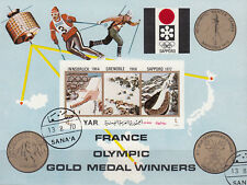 Y.A. R,/North Yemen n. BL. 181/France Olympic ORO Medal Winners