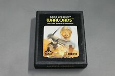 Warlords (Atari 2600, 1981 Cartridge Only In Very Good Condition NOT TESTED