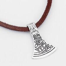 5 x Large Tibetan Silver Celtic Axe Head Charms Pendants 43mm Jewellery Making