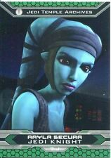 Star Wars Chrome Perspectives II Refractor Parallel Base Card 7-J Aayla Secura