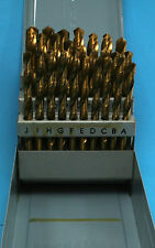 Letter Drill Set HSS Tin Coated A - Z