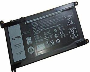 Laptop Battery Dell WDXOR 11.4V Dell Inspiron13 7378 13 5000