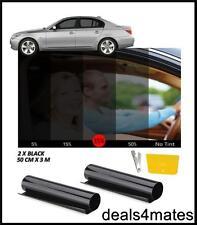 WINDOW TINT FILM TINTING BLACK KIT  SMOKE 35% 50cm x 6M