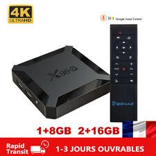 2020 X96Q TV Box Android 10 Allwinner H313 4K 2.4G Wifi Mini Multimédia 1GB 2GB