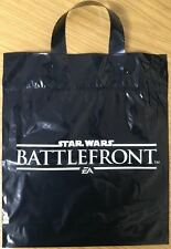 STAR WARS BATTLEFRONT BLACK CARRIER BAG NEW WITH HANDLE EA SPORTS (PS3/PS2/PC)