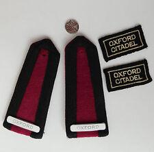 Vintage Salvation Army uniform Epaulettes Enamel badges Patches Oxford Citadel