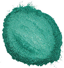 Jar 1oz Natural Lily Pad Green Mica Pigment Powder Soap Making Cosmetics 1 ounce