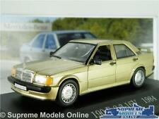 MERCEDES BENZ 190 E 2.3 MODEL CAR GOLD 1968 1:43 SCALE IXO SALOON 190E 16V K8