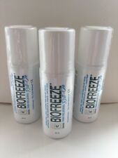 BIOFREEZE PAIN RELIEF ROLL-ON 89ML x 3 UNITS - Expiry Date 08/19