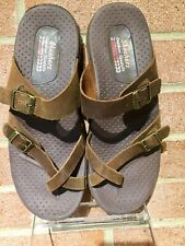 Women's Skechers Reggae Outdoor Lifestyle leather Caribbean Sandals Sz 7 /37